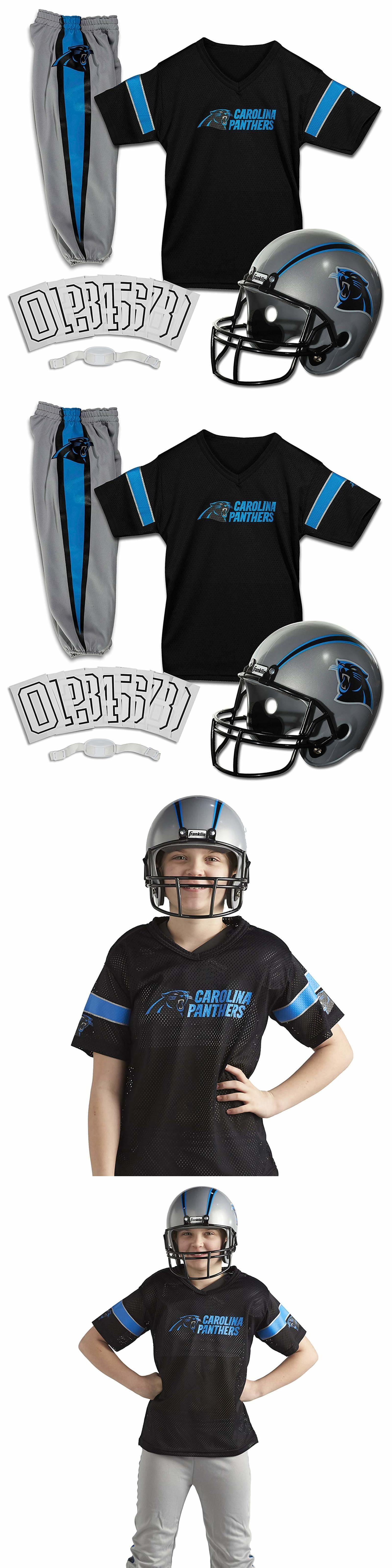 Dress-Up Costumes 19172  Carolina Panthers Uniform Set Youth Nfl Football  Jersey Helmet Kid Medium Size -  BUY IT NOW ONLY   28.99 on  eBay  costumes  ... 3bd8f8540