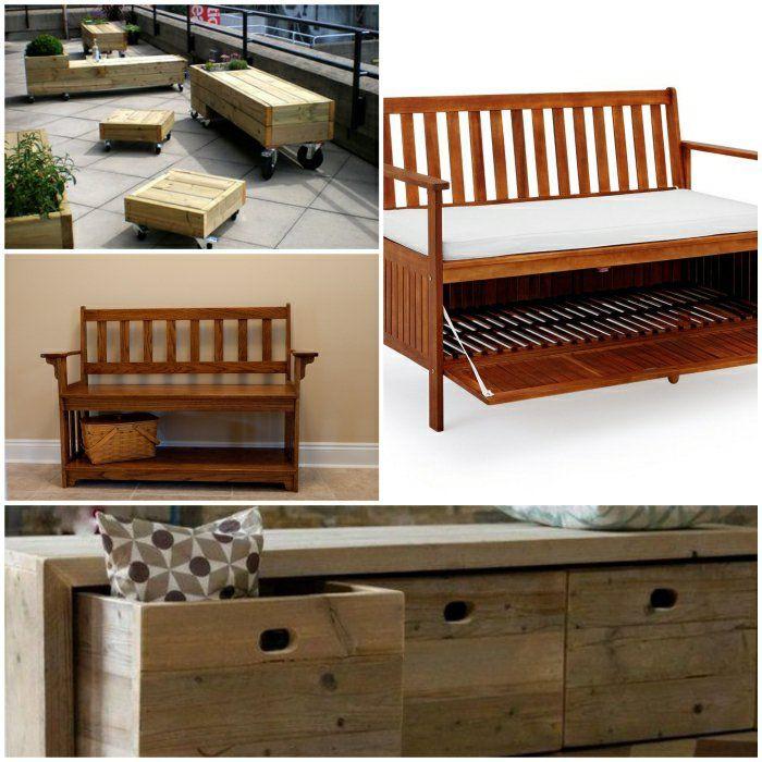 Gartenbank Mit Stauraum Als Praktisches Möbelstück Auch Fürs Zuhause