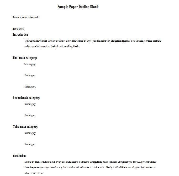 Mla Format Template Printable Mla Format Template Printable Templates