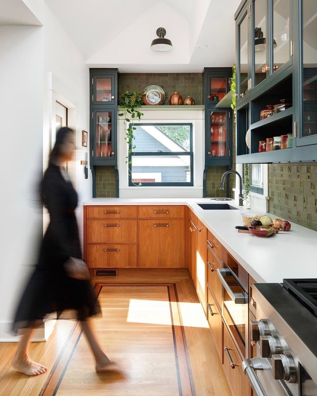 Dwell On Instagram If Walls Could Talk This Craftsman Style Bungalow In Portland Oreg In 2020 Simple Kitchen Remodel Craftsman Style Bungalow Modern Kitchen Design