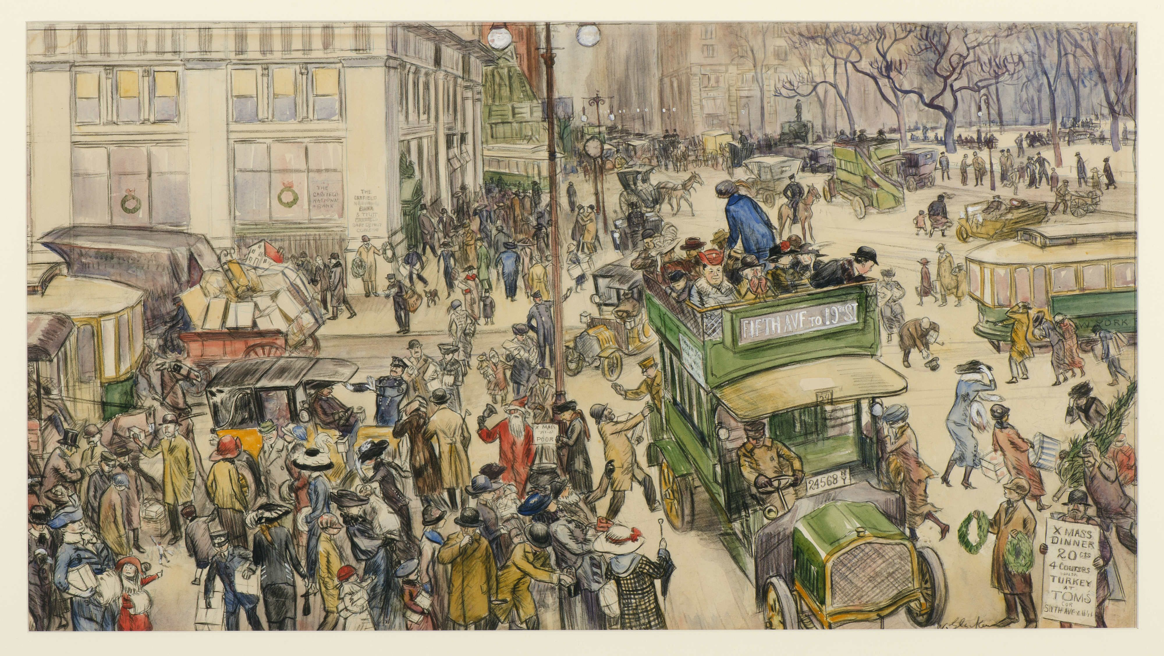 Image result for glackens christmas paintings