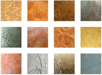 Venetian Plaster samples from russia