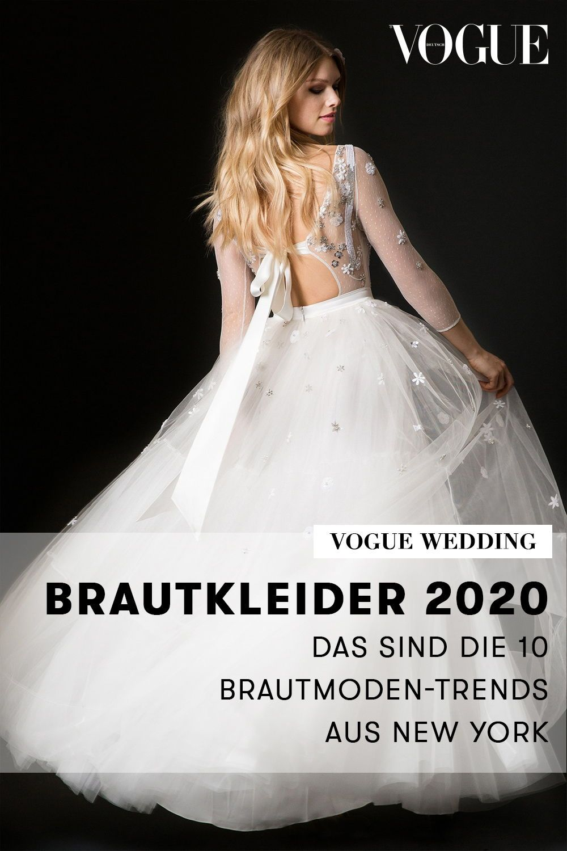 Brautkleider 14: Das sind die 14 Brautmoden-Trends aus New York
