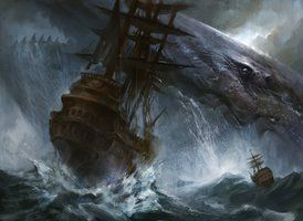 Colossal Whale by ~AdamPaquette