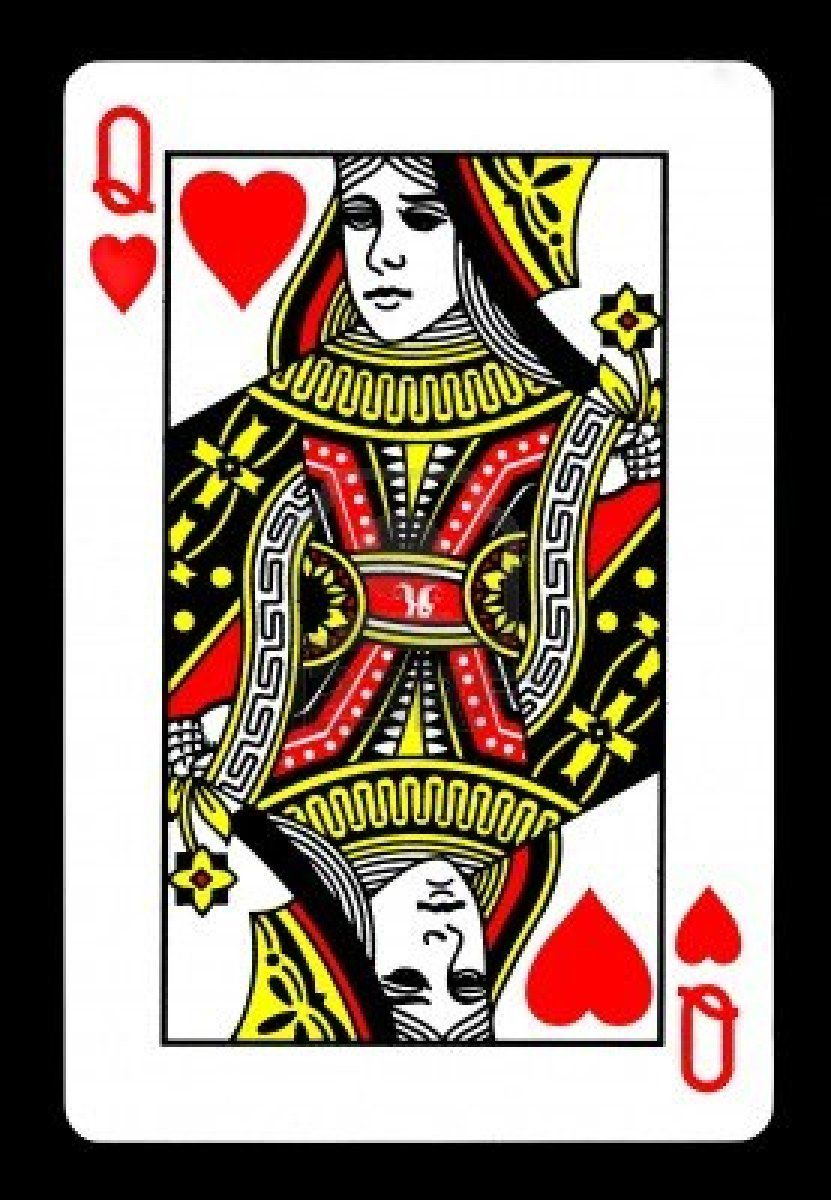 queen of hearts card game