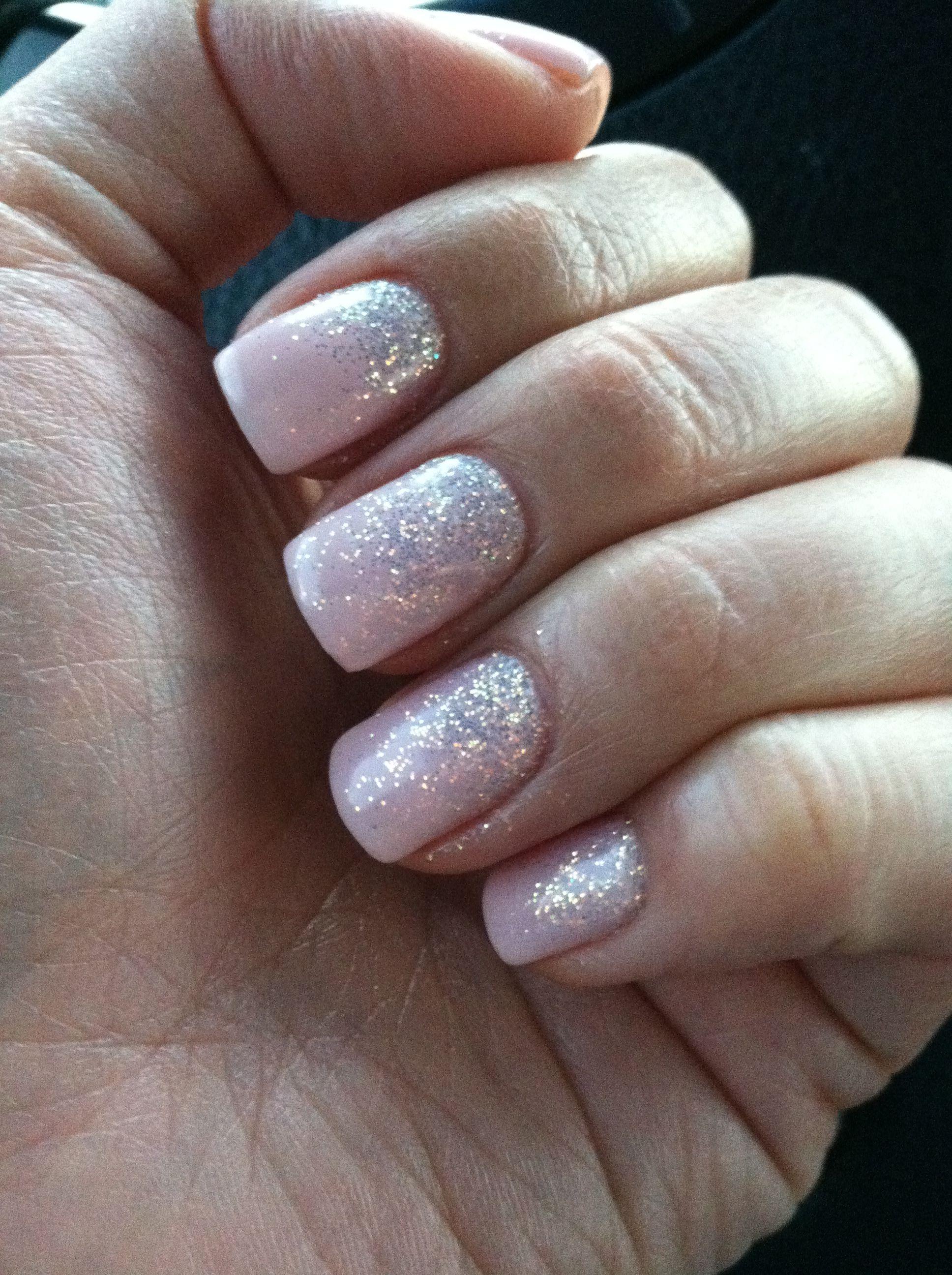 Glitter Fade Gel Nails | Best Nail Designs 2018