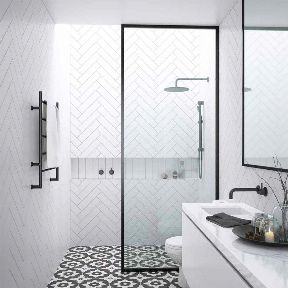 small-bathroom-ensuites #bathroomtiles  Small bathroom remodel