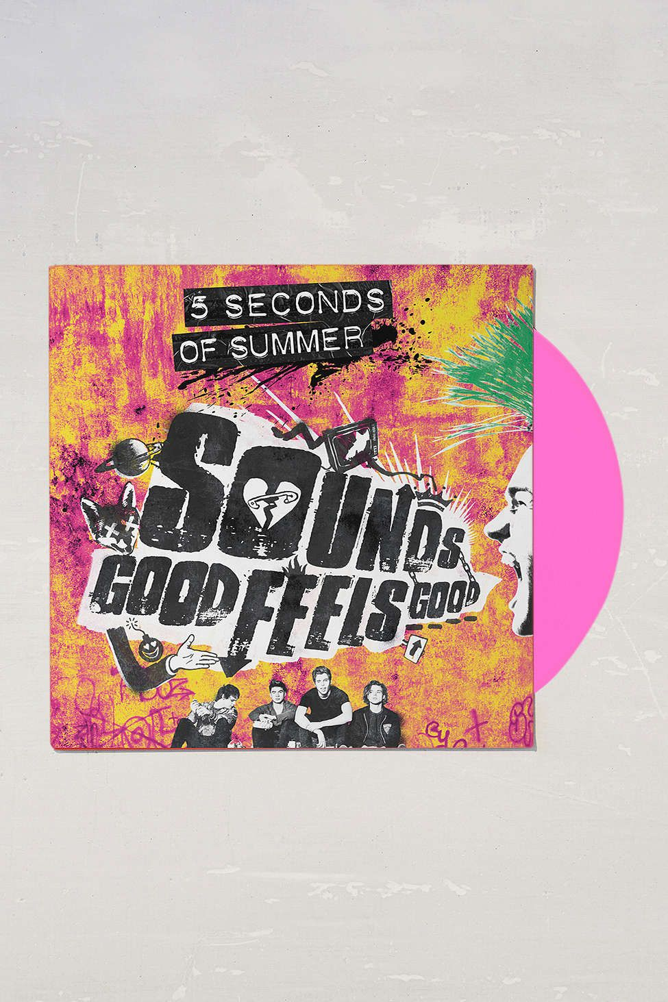 5sos poster design - 5 Seconds Of Summer Sounds Good Feels Good Uo Exclusive Lp
