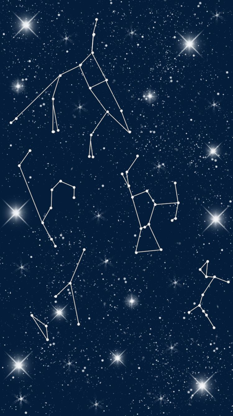 Constellation Of The Night Sky #iPhone #6 #wallpaper