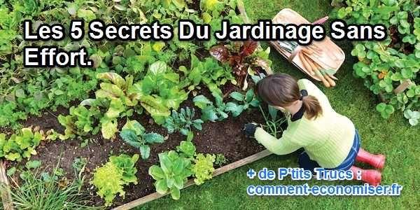 Les 5 Secrets Du Jardinage Sans Effort Calendrier Du Jardinier