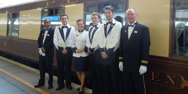 Pullman Orient Express staff uniform Osobní přeprava - employee uniform form