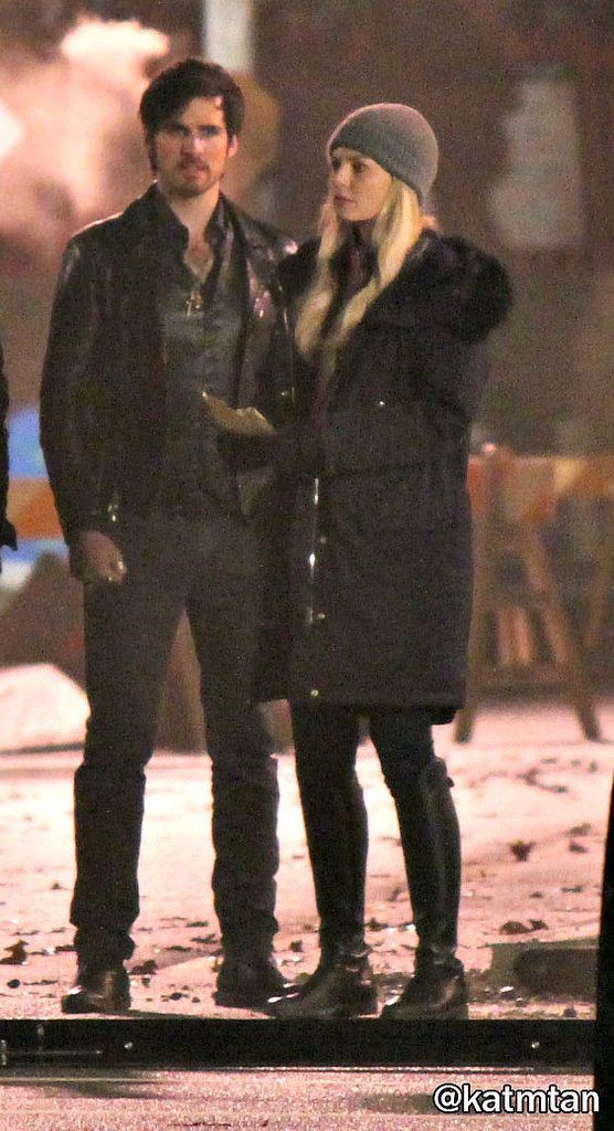 "Jennifer Morrison and Colin O'Donoghue - Behind the scenes - 5 * 20 ""Firebird"" - 23 February 2016and"