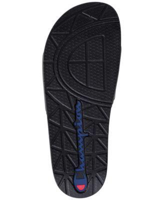 8d5ef0b567f82 Champion Men s Ipo Chenille Slide Sandals from Finish Line - Black ...