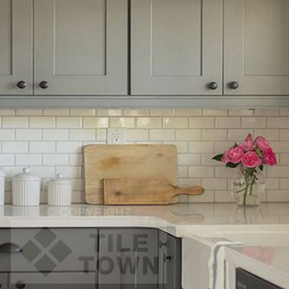 Radbourne Bone Kitchen Wall Tiles by CVA (tile factory) supplied ...