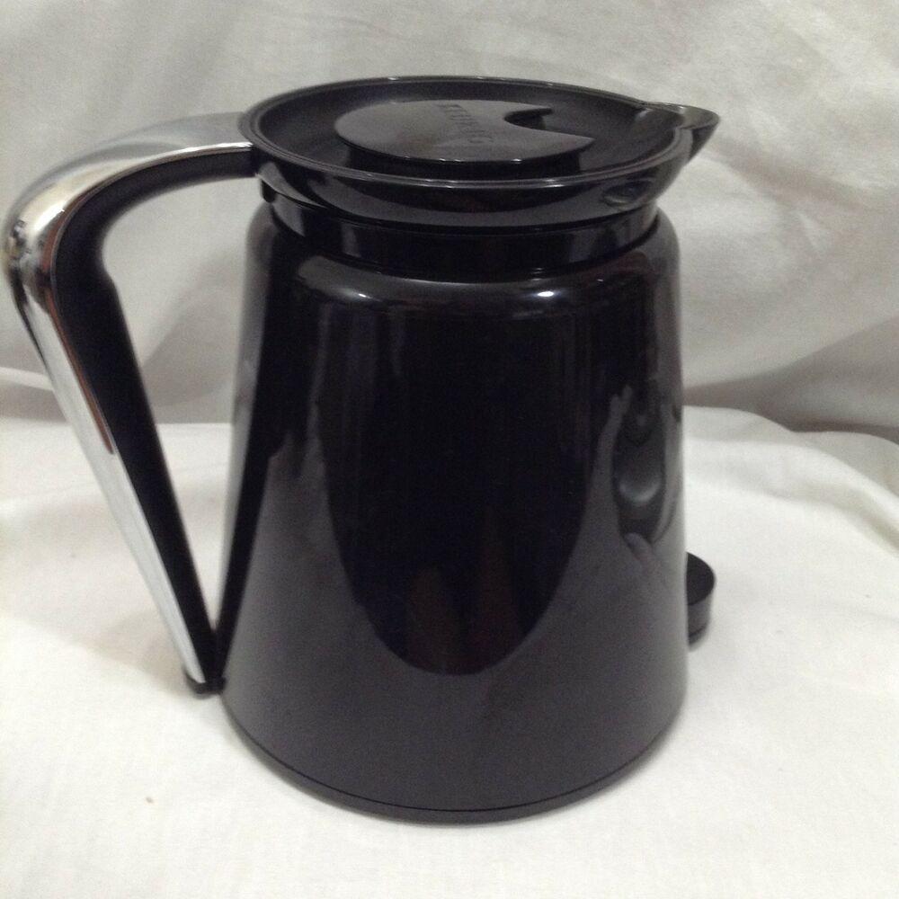 Keurig Coffee Carafe Pot 2.0 Black Thermal 32 oz 4 cup