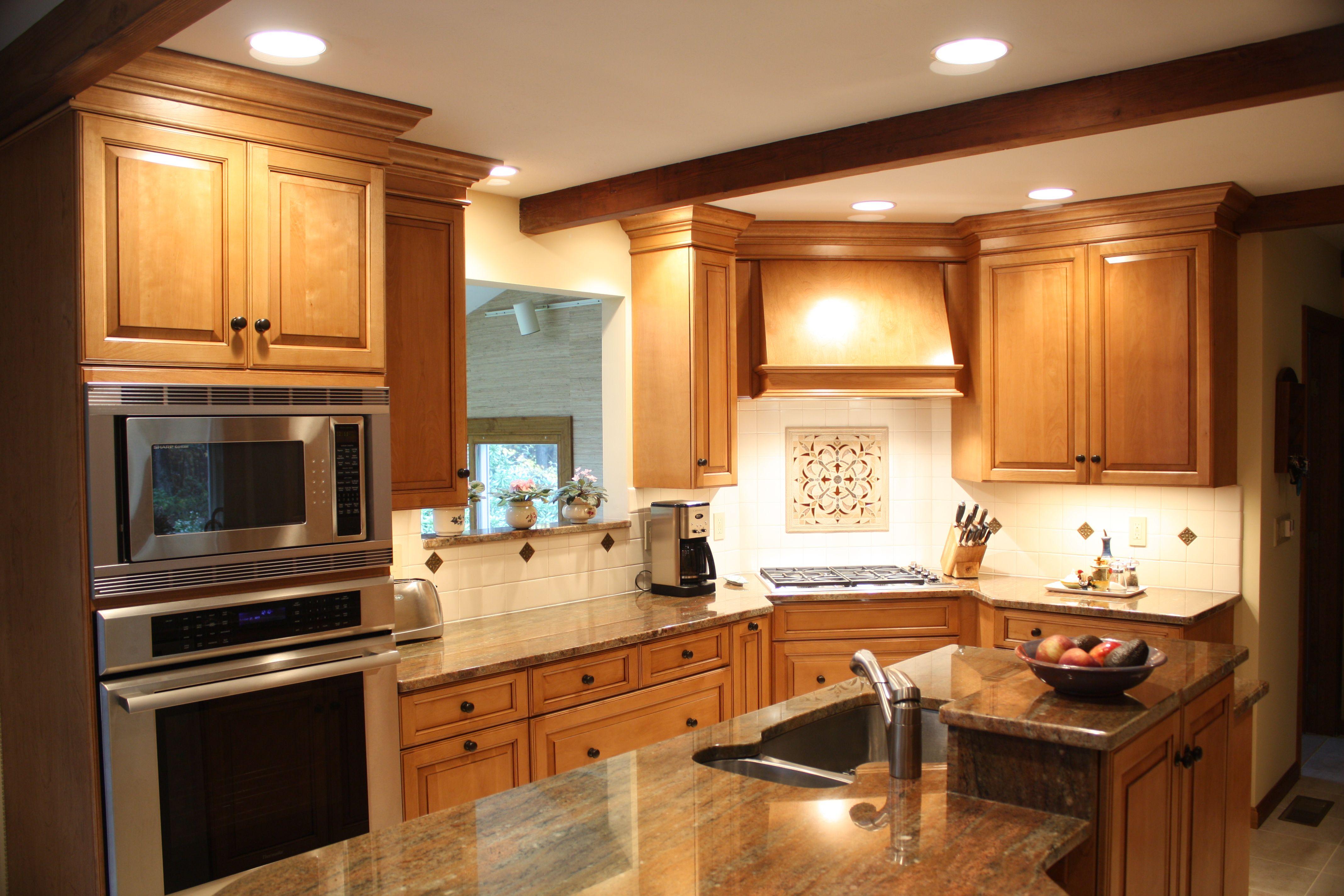 Best Birch Cabinet Kitchens Stainless Steel Appliances Sink 400 x 300