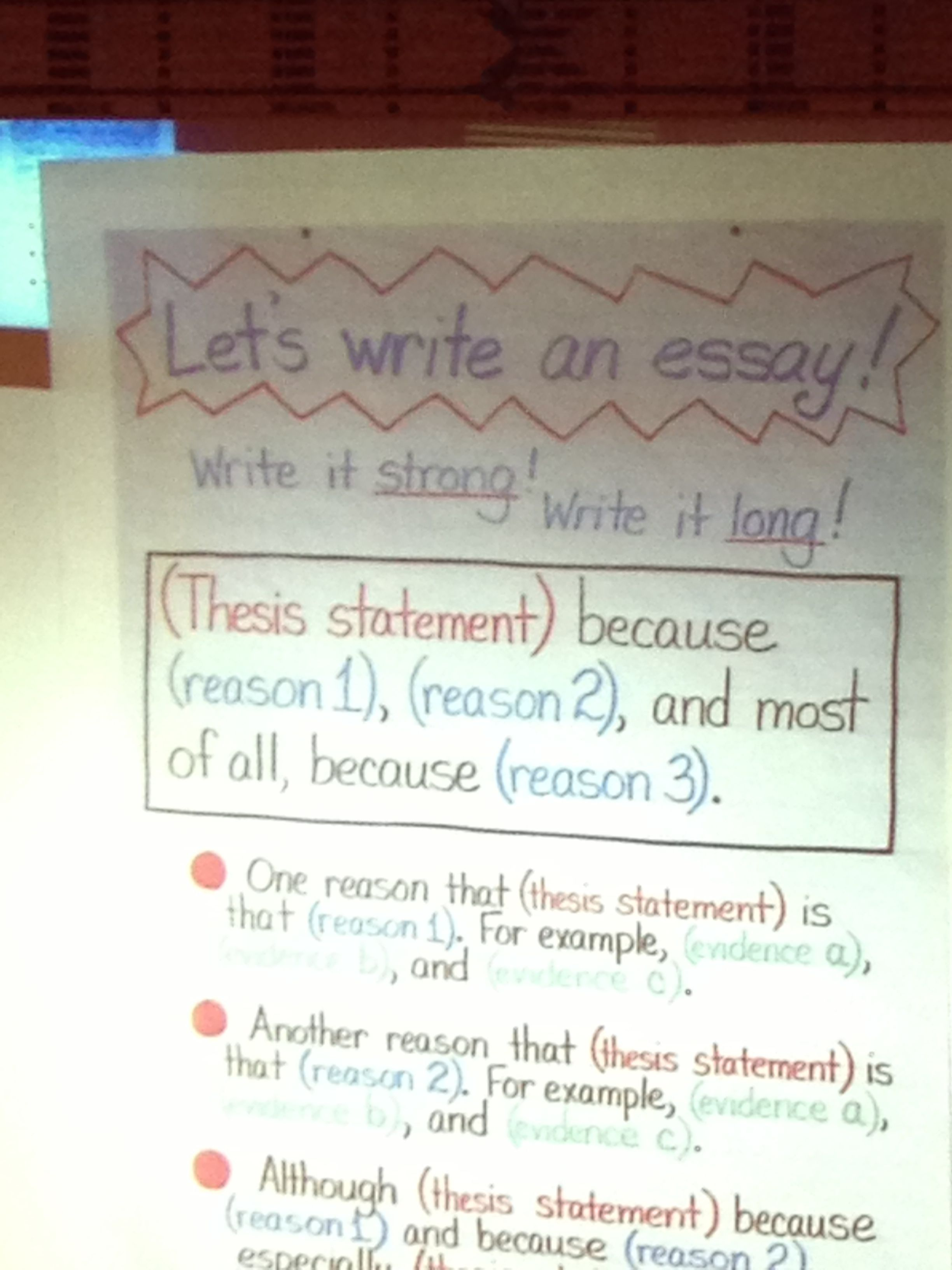 4th grade essay writing from tc teaching