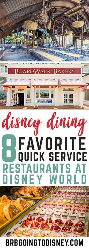 Best Quick Service Restaurants at Disney World #vacationlooks