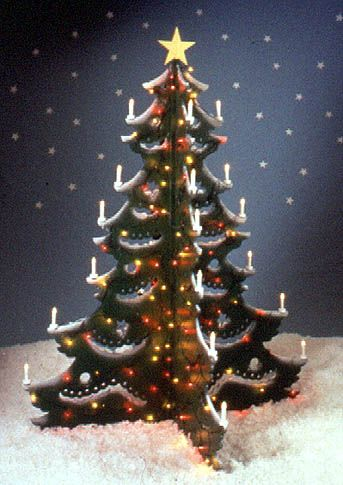 4-foot Christmas Tree  Large-format Paper Woodworking Plan from - free wooden christmas yard decorations patterns