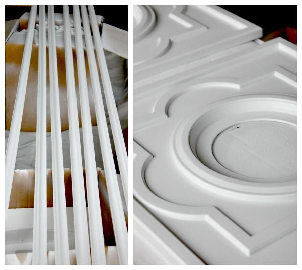 DIY CUSTOM DOOR MOULDING USING A CEILING MEDALLION & DIY CUSTOM DOOR MOULDING USING A CEILING MEDALLION | Moldings ...
