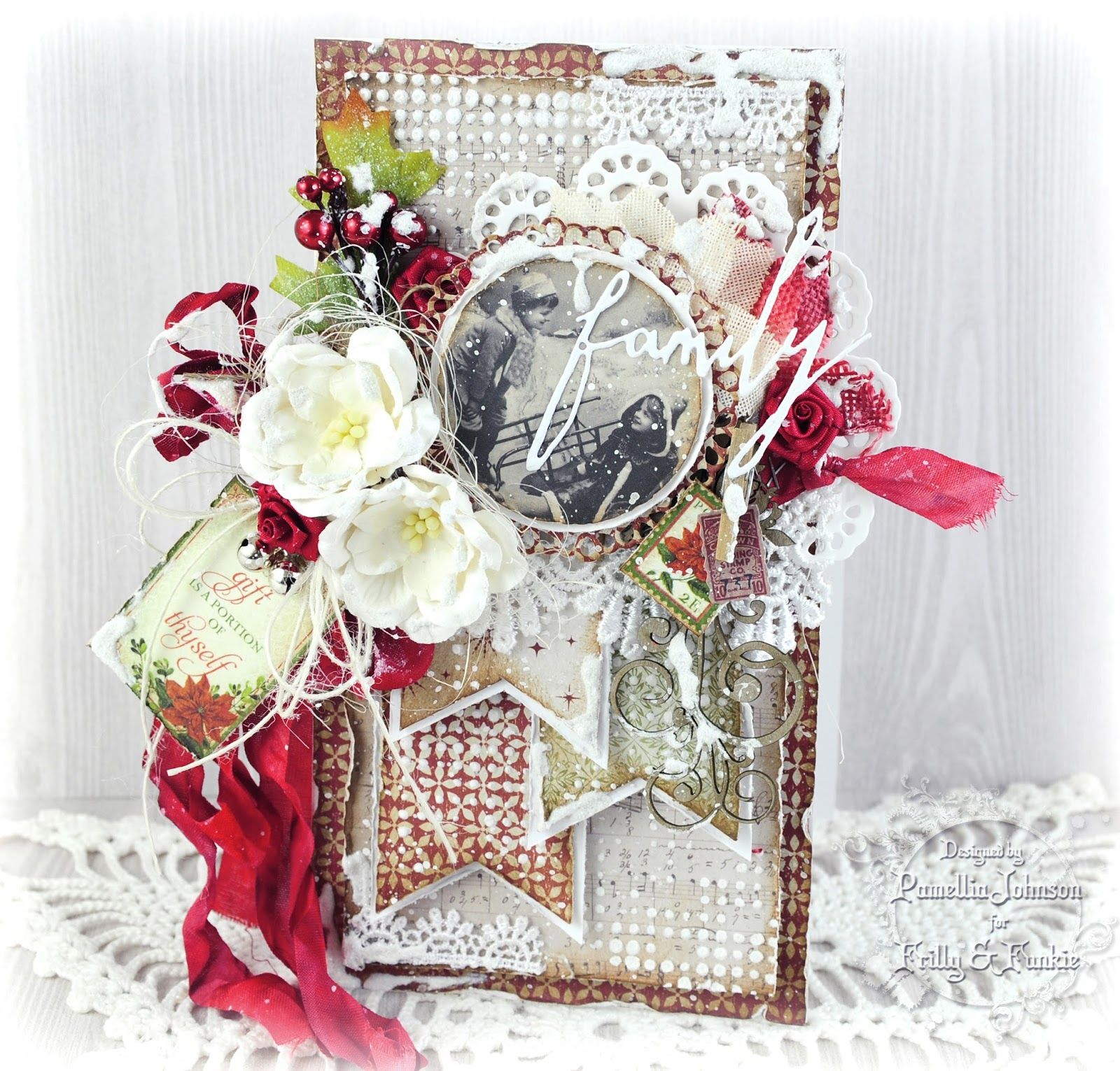 Pin by lezlie dick sherman on cardsfrilly and funkyshabby chic