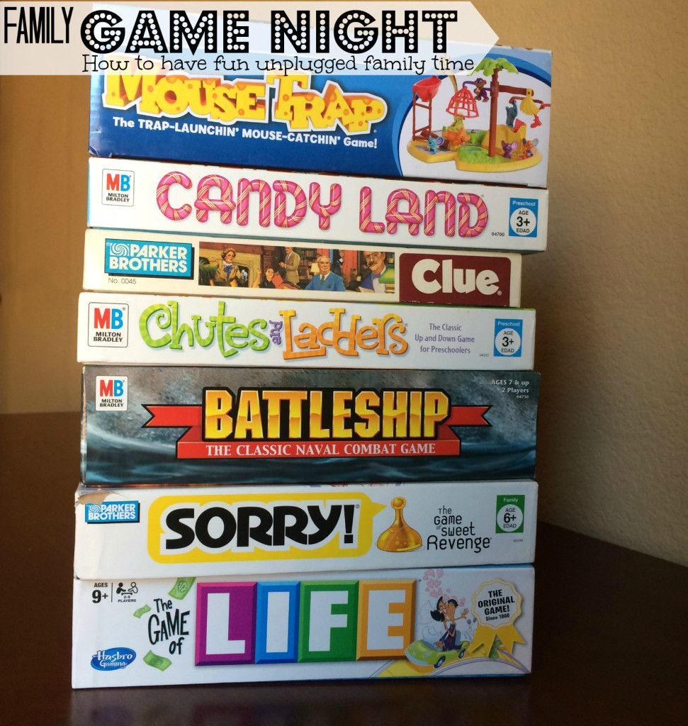 Image result for family game night ideas