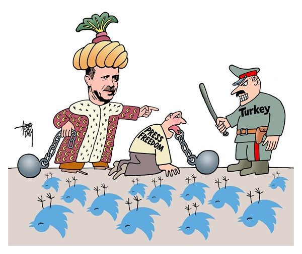 Image result for cartoon erdogan turkey