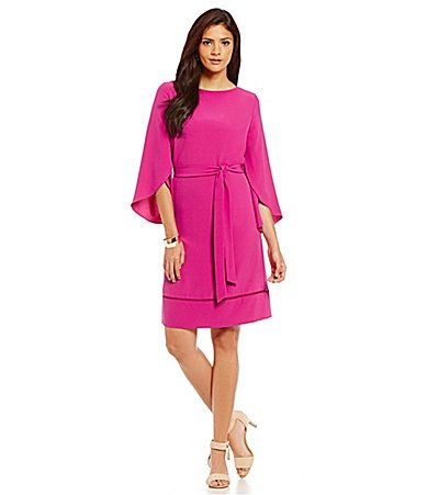 Alex Marie Aesthetic Allure Kayla Flutter Sleeve Dress #Dillards