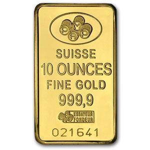 10 Ounce Gold Bar Gold Bullion Bars Gold Investments Gold Bullion