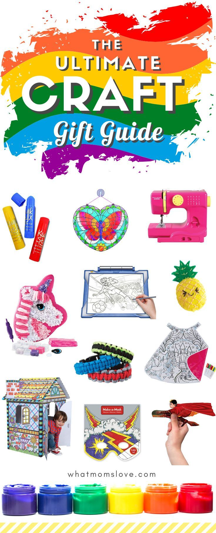The Best Arts Crafts Supplies Gift Ideas For Kids From Toddlers To Teens Kids Christmas Craft Gifts Gifts For Kids