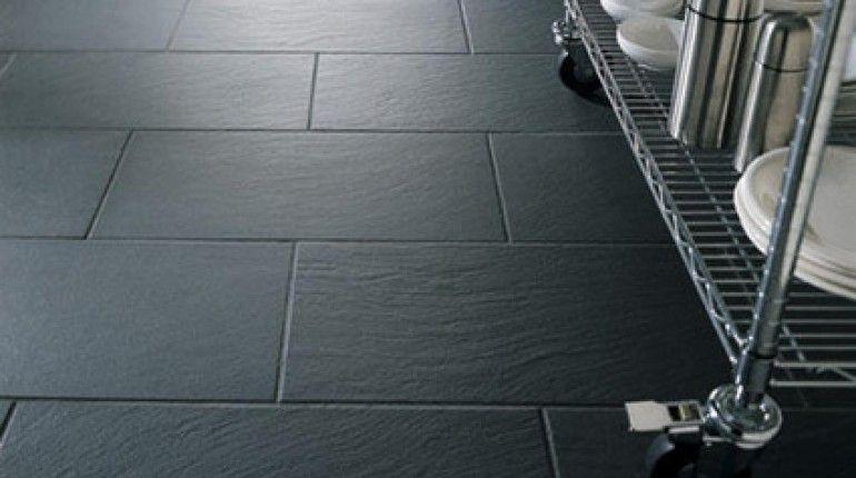 13+ Dark grey kitchen floor tiles ideas