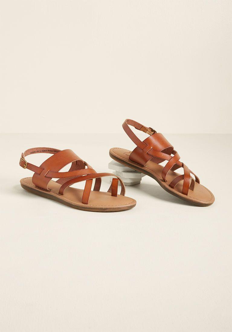 bfccbb9297d95c Getaway Gait Sandal in Brown in 8.5 - Flat - 0-1