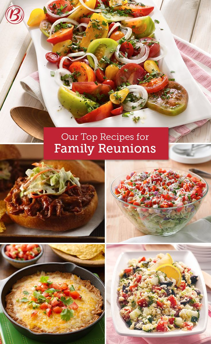our top family reunion recipes in 2018 | picnics and potlucks