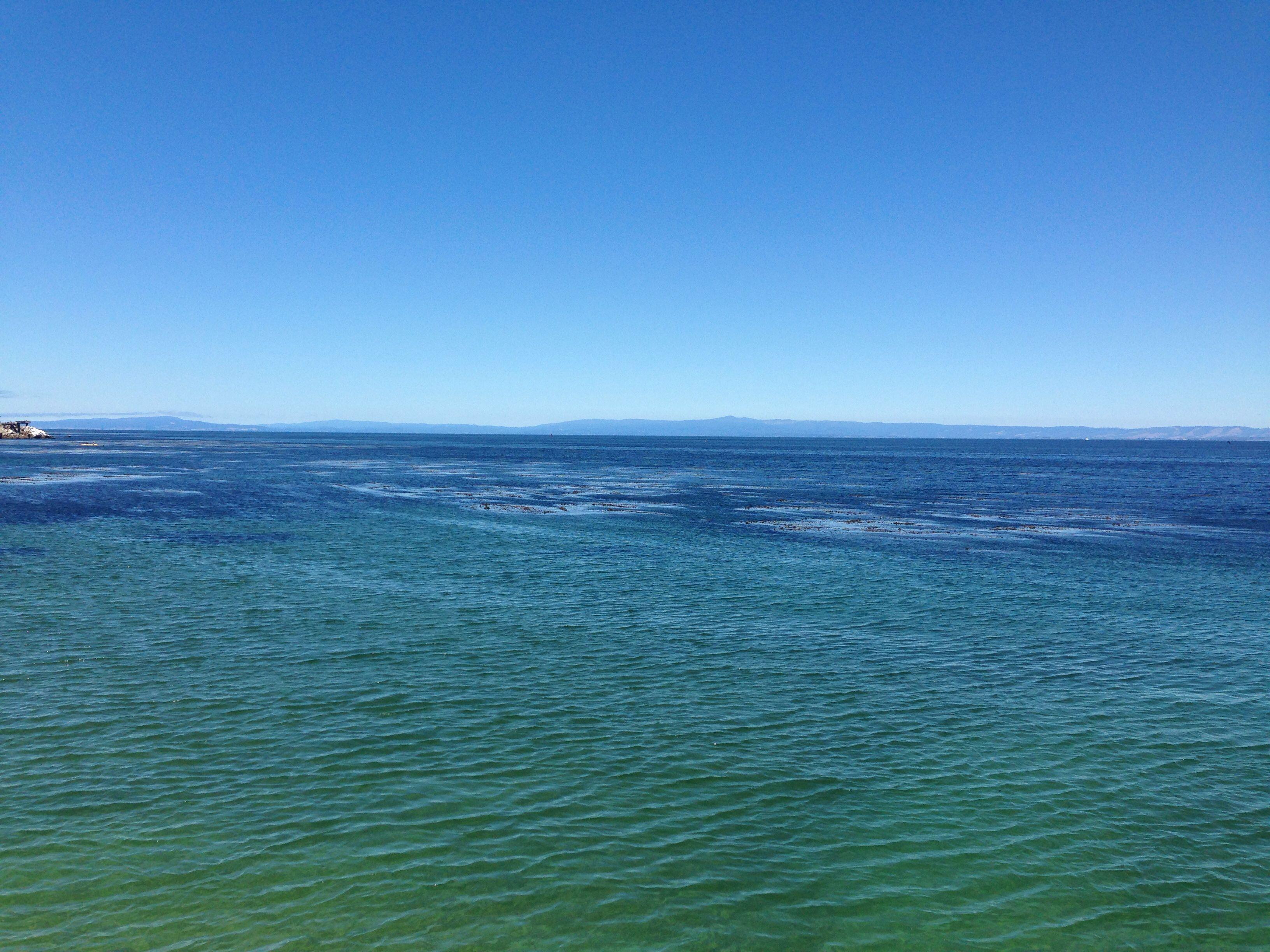 Monterey Breakwater Natural landmarks, Monterey, Beach