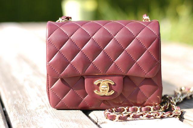 5240e8a1867c Chanel mini A35200 Bordeaux   Handbag Heaven   Chanel mini, Chanel ...