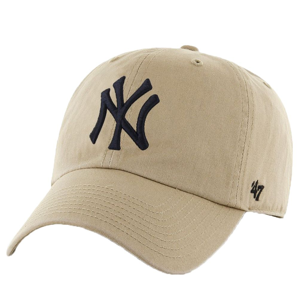 100% genuine detailed pictures free delivery 47 Brand New York Yankees Clean Up Cap - khaki | New york cap, New ...