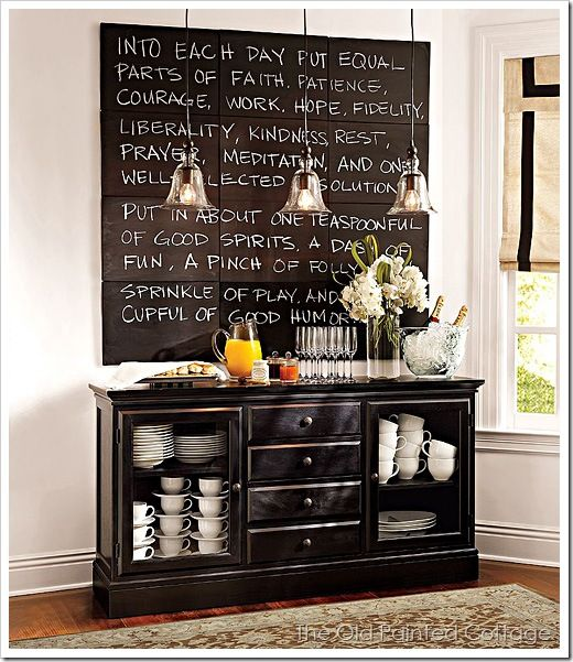 Love this quote for the kitchen