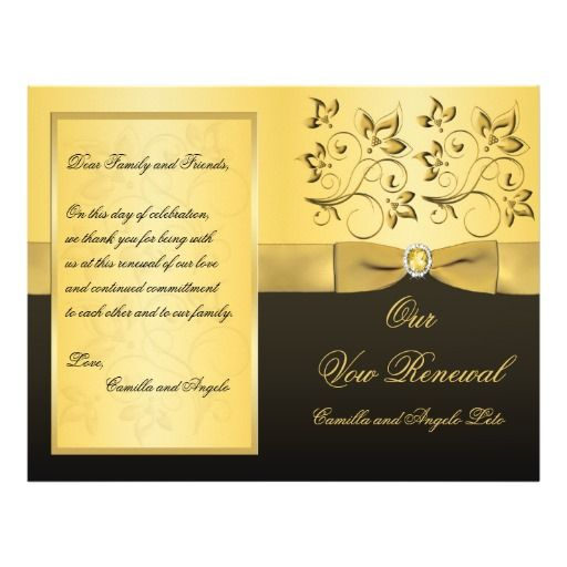 Wedding Vow Renewal Program Email For Help 50th Wedding Anniversary 50th Wedding Anniversary Party 50th Wedding Anniversary Invitations