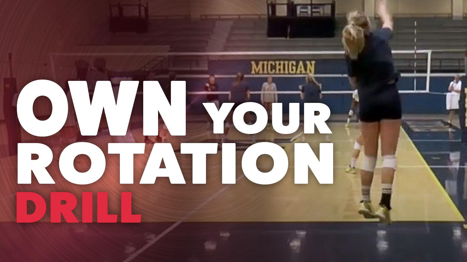 Score More With The Own Your Rotation Drill Coaching Volleyball Volleyball Skills Volleyball Training