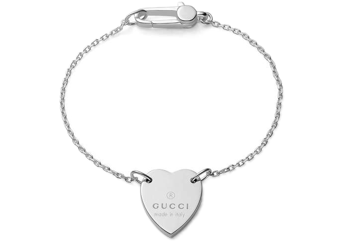 Pin By Fashmates Social Styling S On Shop The Look Gucci Bracelet Silver Jewelry Fashion Fashion Jewelry