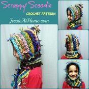 Scrappy Scoodie ~ Crochet Version - via @Craftsy