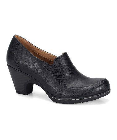 Look what I found on #zulily! Black Tyla Shoe by Eürosoft by Söfft #zulilyfinds