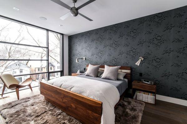 Männliches Schlafzimmer Design: Hinweise für die Einrichtung des ...