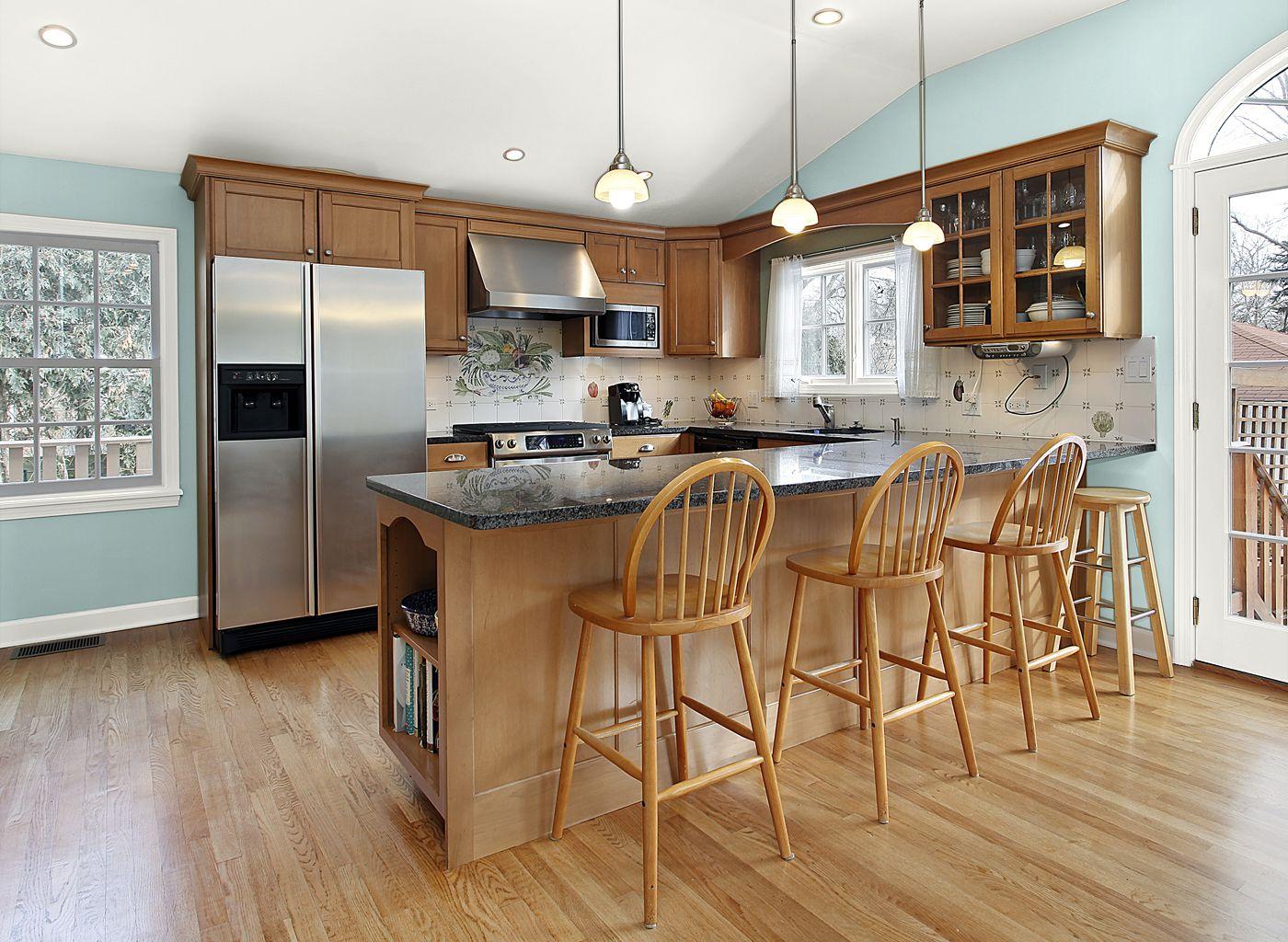 OG Description for Rooms by Color | Wooden kitchen ...