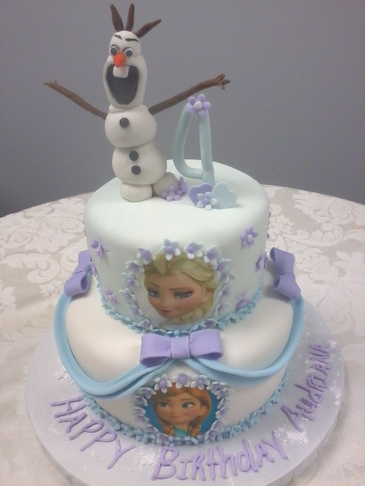 D D Cake Designs Jacksonville Florida Two Tiered Marshmallow