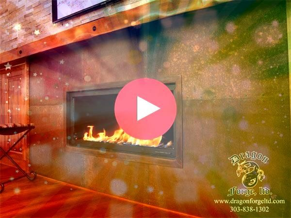 Snap Shots copper Fireplace Surround Tips Concrete fireplaces can turn a regular room into something extraordinary But careful planning and dHottest Snap Shots copper Fir...