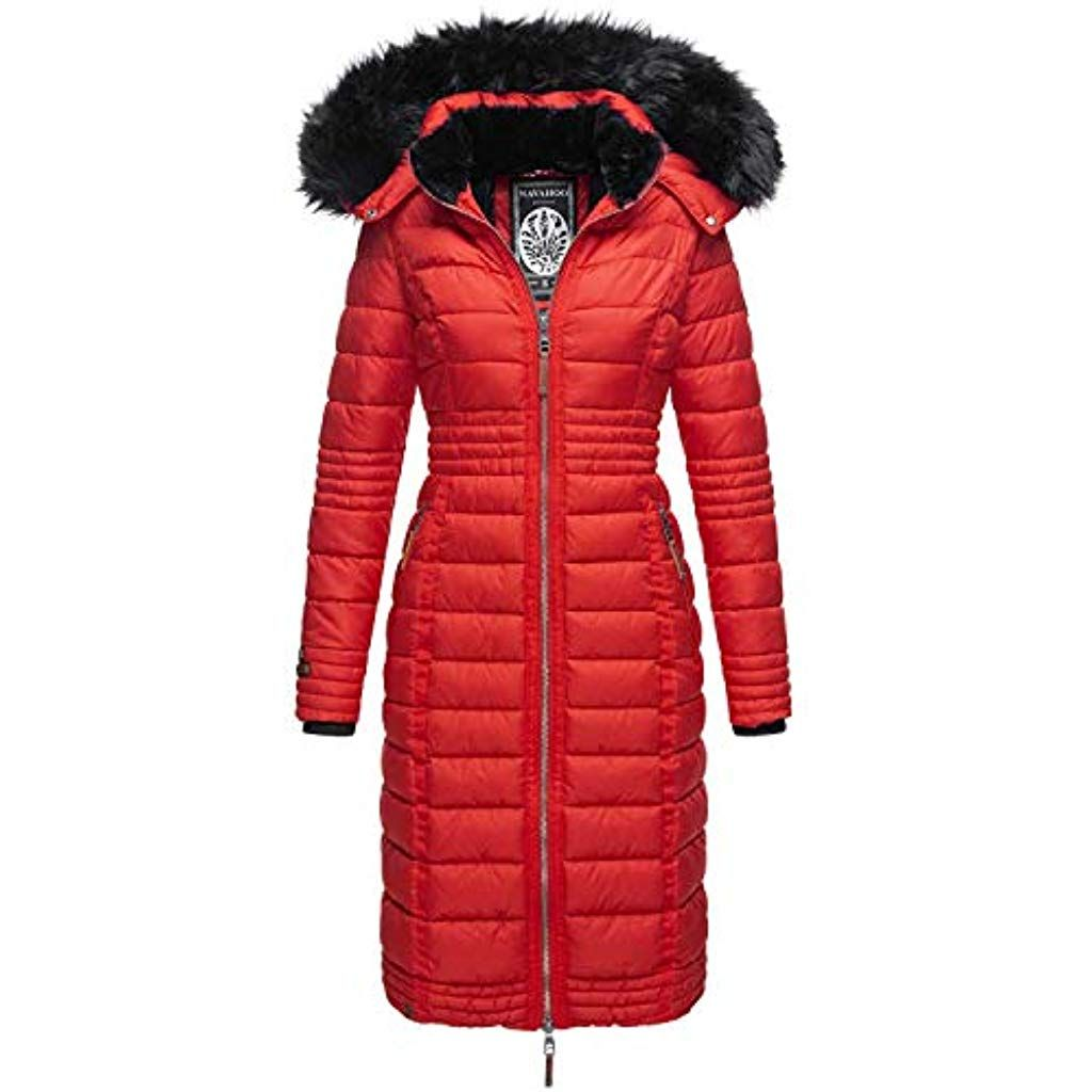 Damen Steppmantel Stepp Mantel Winter Jacke Parka | real