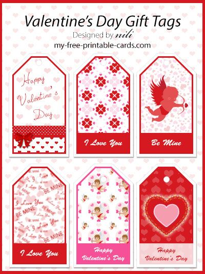 Free Valentine S Day Printables Gift Tags At Http Www My Free