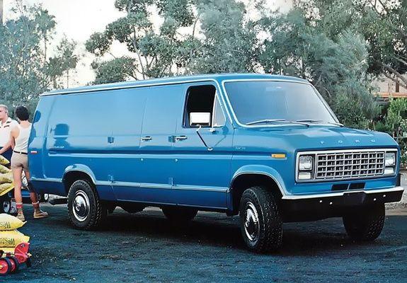 1979 Ford Econoline Camper Van 1979 Ford Econoline Van Ford