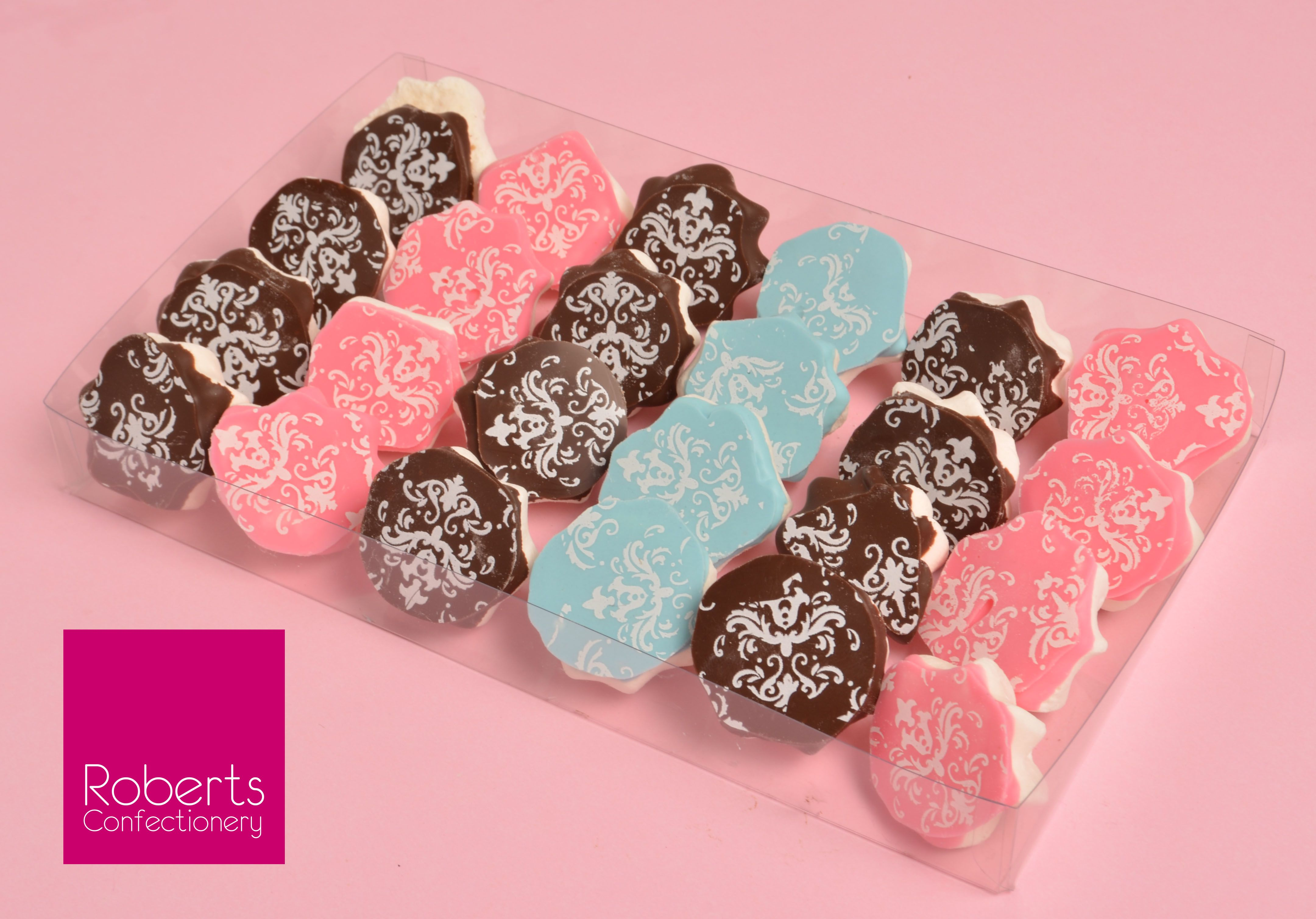 Meringues Dipped In Roberts Confectionery Chocolate And